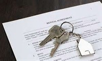 Keys on Rental Agreement