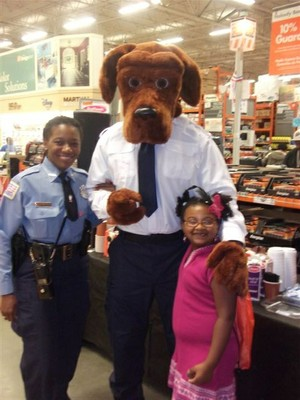 McGruff New look at Home Depot with Kids