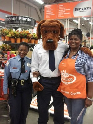 McGruff the Crime Dog new look at Home Depot
