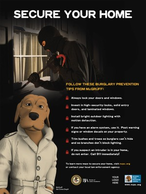 Burglary Poster — National Crime Prevention Council